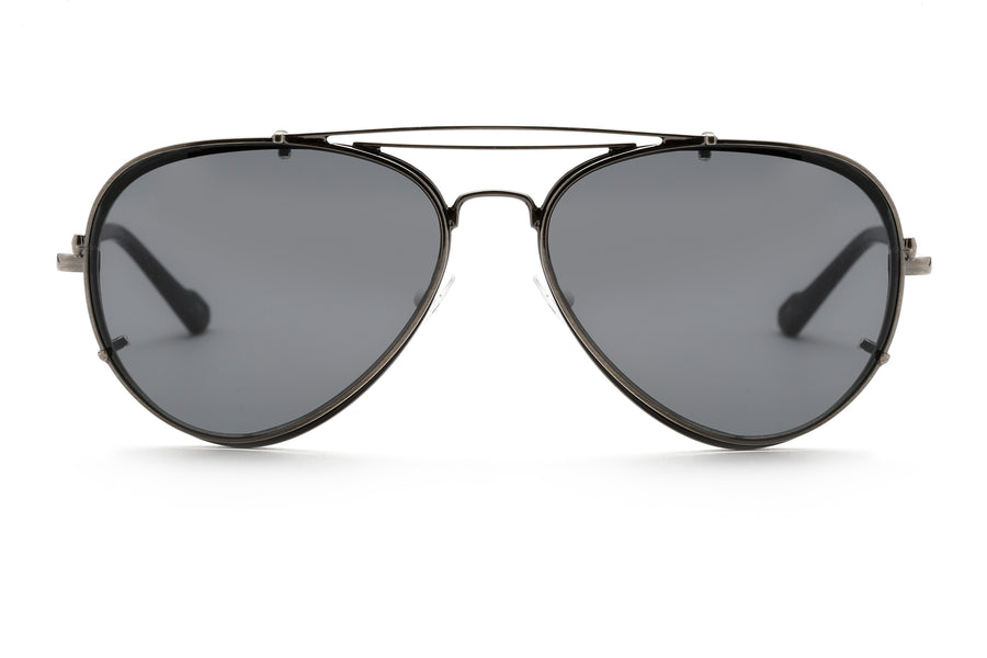Apples aviator optical frame in black