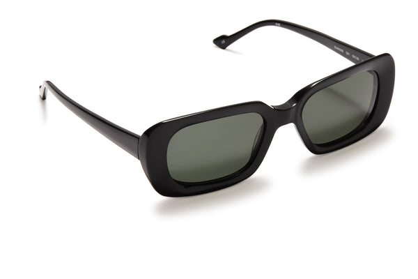 Sunday Somewhere Ursula Black Women's Acetate Sunglasses