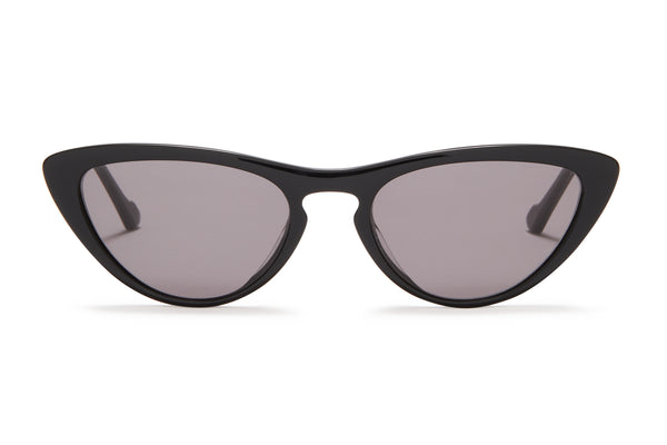 Sunday Somewhere Bon Bon Black Women's Cat-Eye Sunglasses