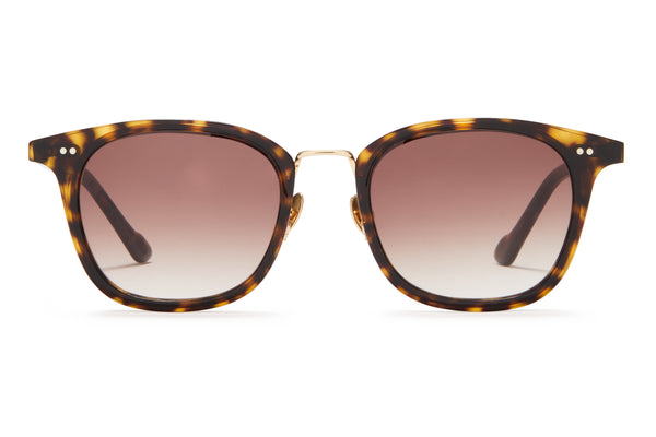 Sunday Somewhere Yaya Dark Tort Unisex Acetate Sunglasses
