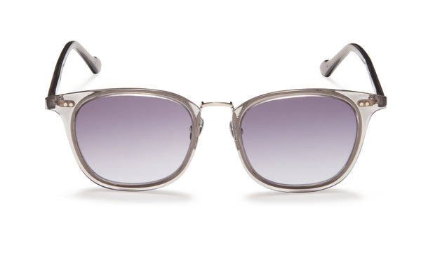 Sunday Somewhere Yaya Grey Unisex Acetate Sunglasses