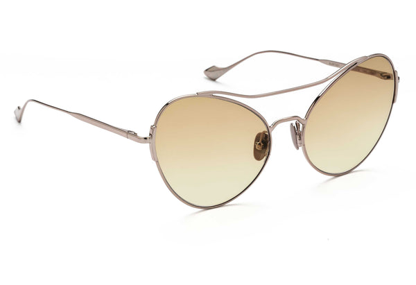 Adeline oversized sunglasses in pink gold