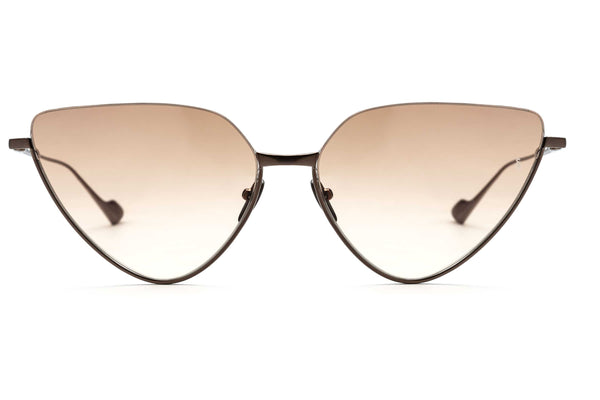 Jacqueline cat-eyed sunglasses in copper