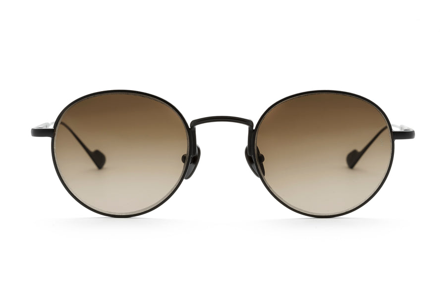 Willie round sunglasses in black