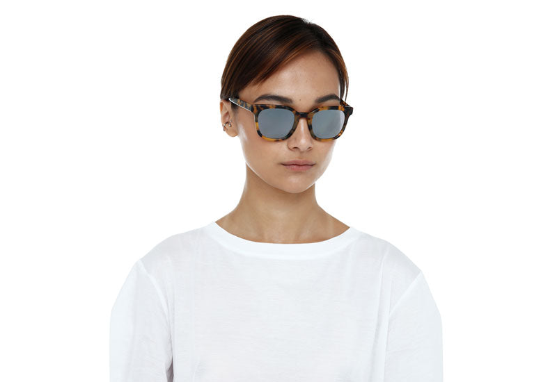 ubud unisex sunglasses in crystal