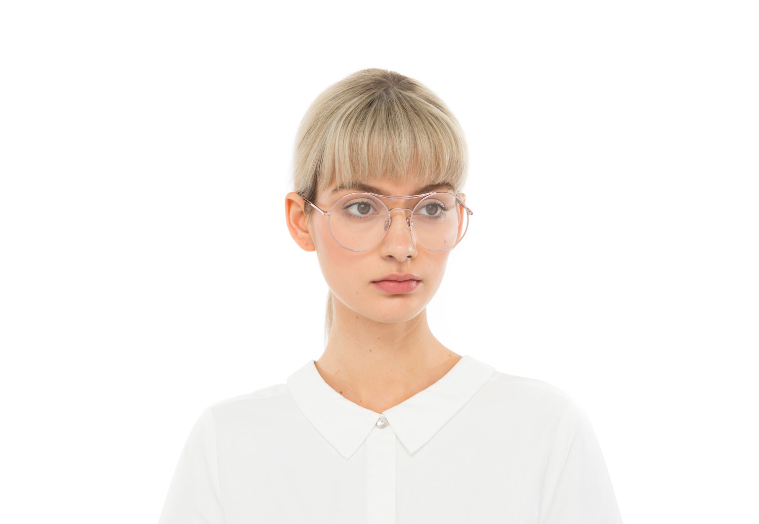 Goldie in Two Tone Metal Optical Optical Frames