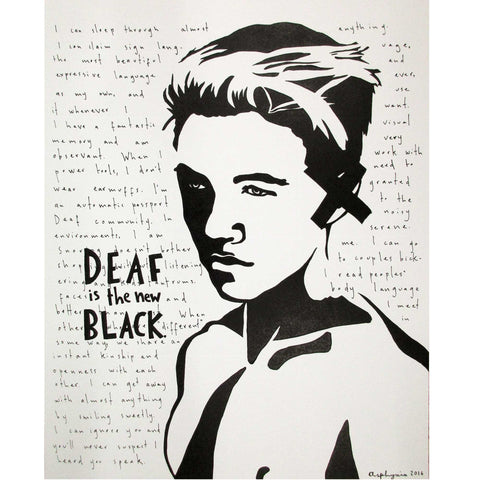Deaf is the new black