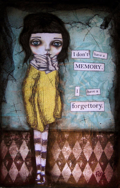 I have a forgettory - Giclee Art Print