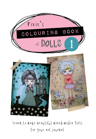 Colouring Book of Dolls 1