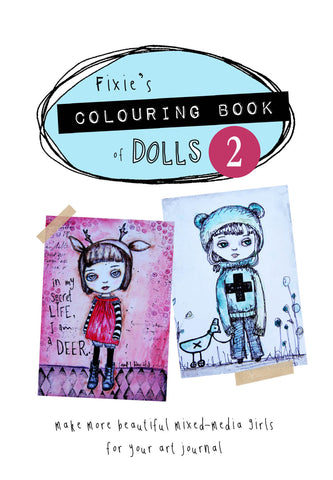 Colouring Book of Dolls 2