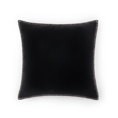 black_50x50_cushion. soft_silk_&_velvet_cushions.