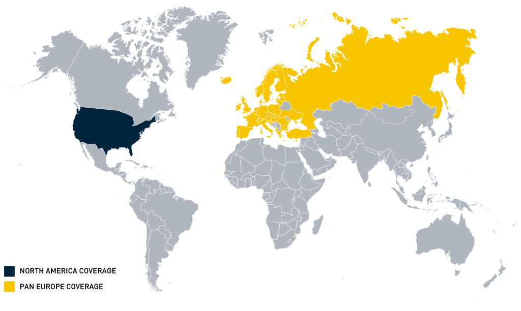 Data Coverage Map