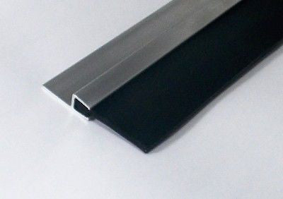 BEST Garage Door Draught Excluder Heavy Duty EPDM RUBBER Strip 2400 MM X 70 MM