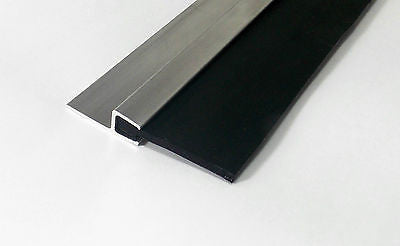 QUALITY Garage Door Draught Excluder Heavy Duty Rubber Strip 2200 x 50 mm Blade