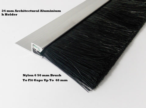 Industrial Premier Brush Strip 50 mm Brush 34 mm Carrier