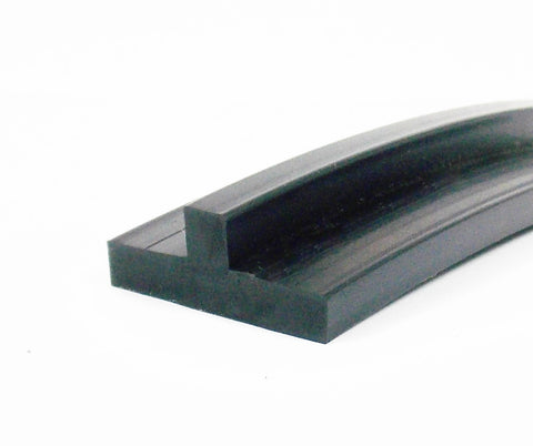 25 mm X 10 mm Rubber T Section