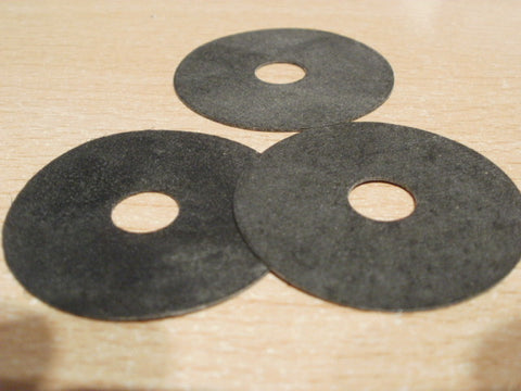 20 NO WASHERS COMMERCIAL QUALITY RUBBER 35 MM OD X 8 MM ID X 0.50 MM THICK