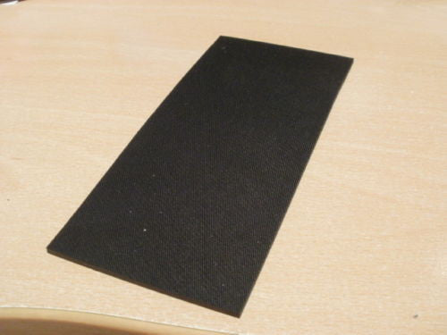 Good quality EPDM rubber strip. 465mm X 135mm wide X 2.70-3.00mm thick.