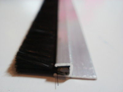 Door brush strip sweeper 2 foot 11 inches long x 20 mm nylon bristles