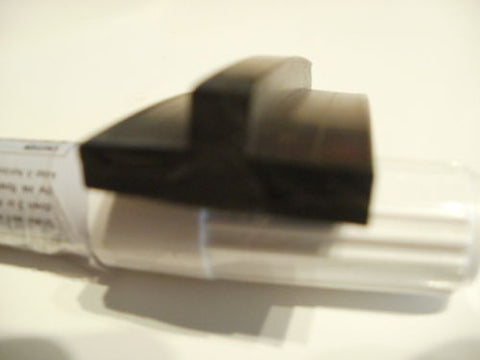 Per mt, T section 25mm X 5mm wide black silicone extrusion EPDM rubber seal.