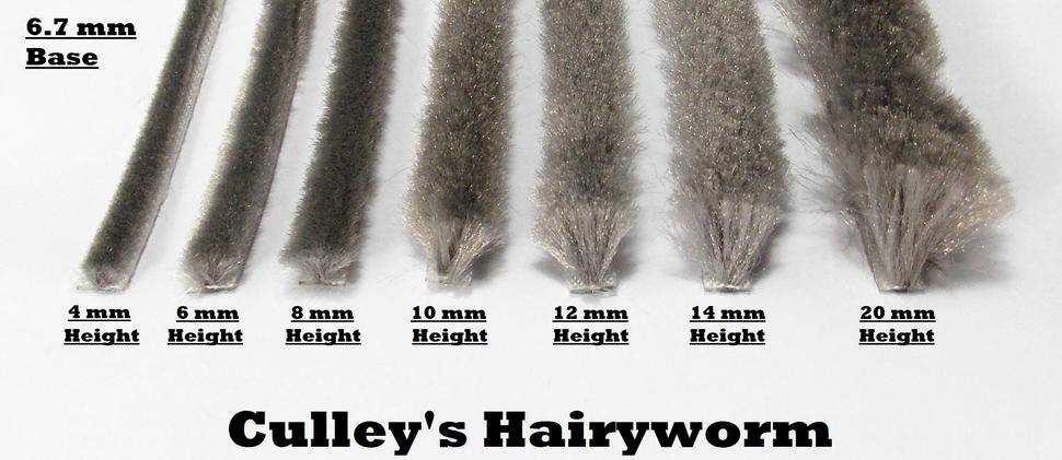 The Hairy Worm range