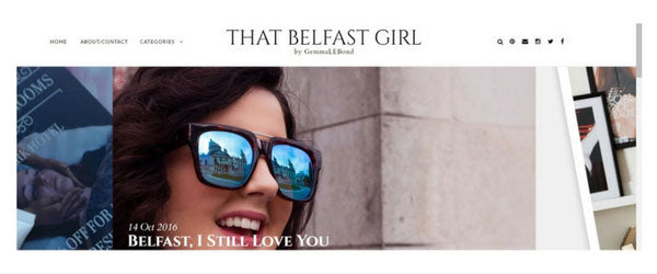 That Belfast Girl Blog