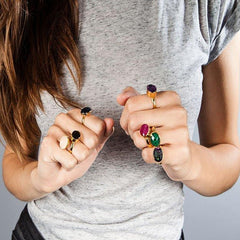 Bonbon rings SVP Jewellery
