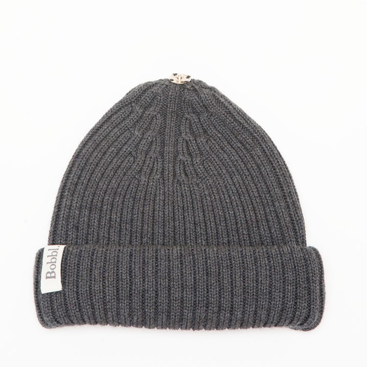 Charcoal Grey Classic Hat from Bobbl