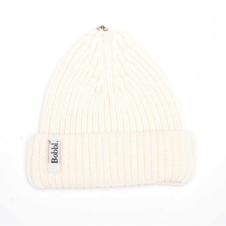 Cream Classic Hat from Bobbl