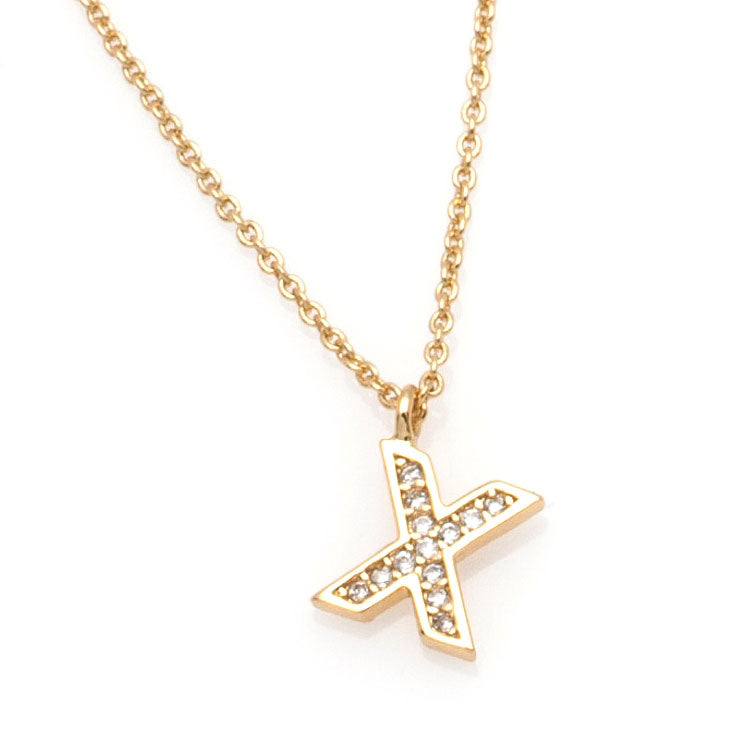 The 'X' Necklace
