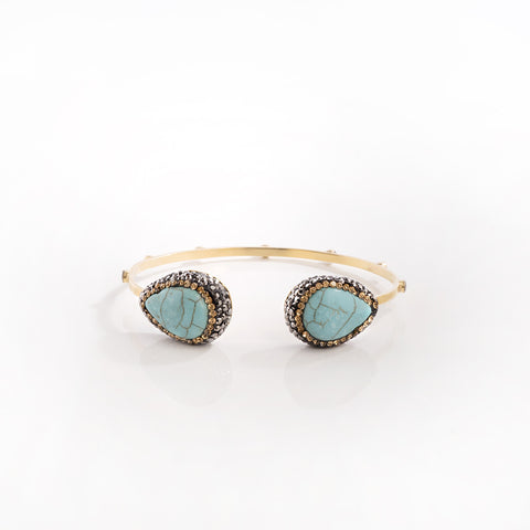 Mini Teardrop Moonstone Ring