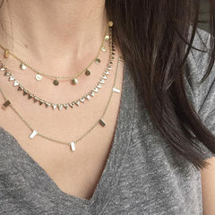 Melanie Auld Layered Necklaces