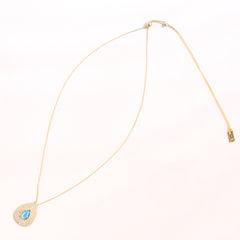 Blue Opal Tantra Necklace