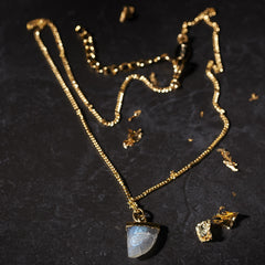 Labradorite Talon Necklace a.v.max