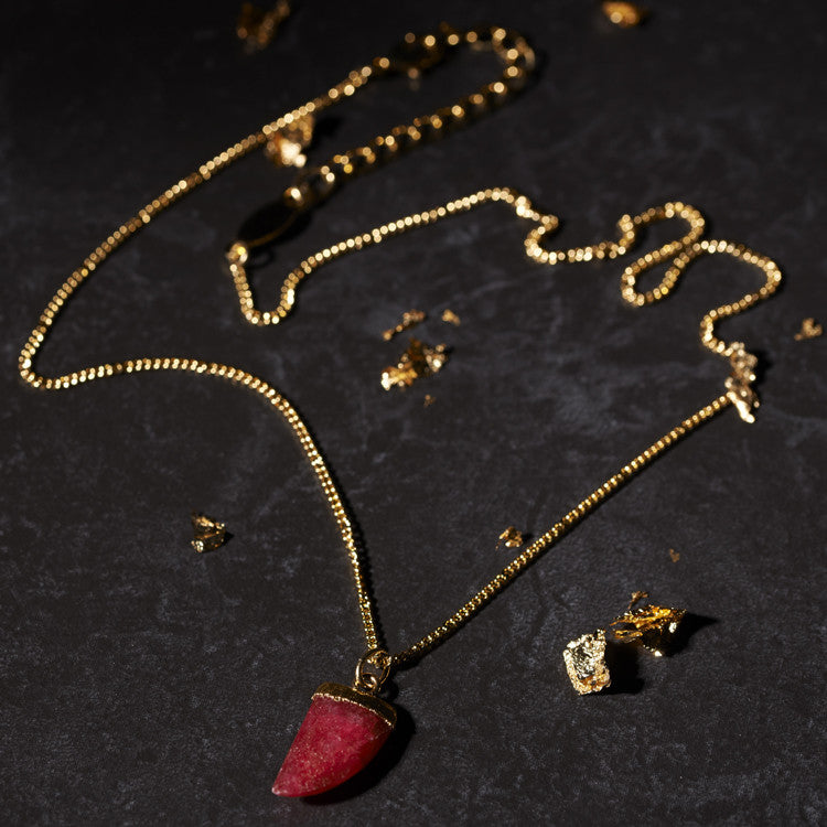 Ruby Talon Necklace a.v.max