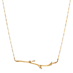 Gold Branch necklace Catherine Weitzman