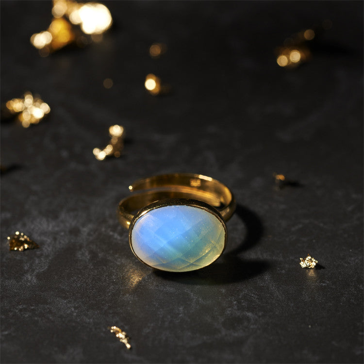 Fired Opal Bonbon Ring SVP Jewellery
