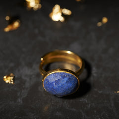 Lapis Bonbon Ring SVP Jewellery