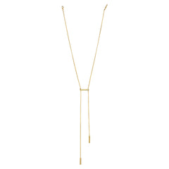 Triple Bar Lariet necklace a.v.max