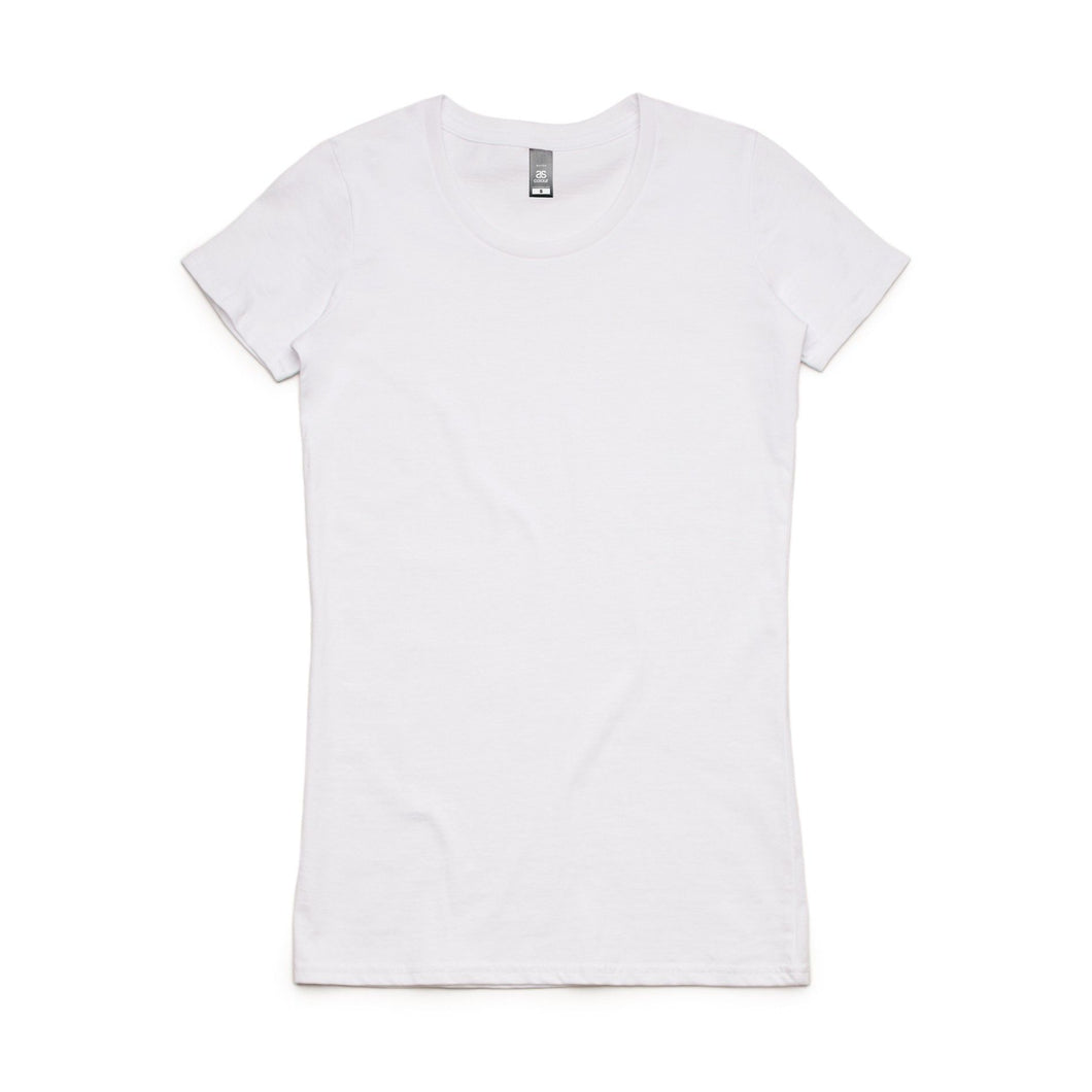 Women's personalised T-shirt / Crop top
