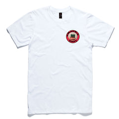 Cracka Tinny - white - Dem Novel Tees