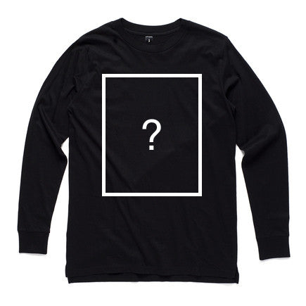 Custom Long Sleeve - Black - Dem Novel Tees