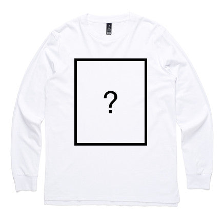 Custom Long Sleeve - White - Dem Novel Tees