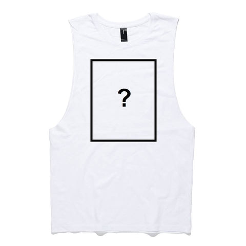 Custom Tank singlet - White - Dem Novel Tees