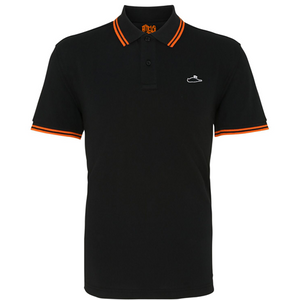 Ween Polo Shirt (Black/Orange)