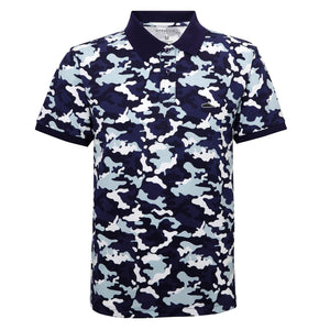 Camo Polo Shirt LTD Edition (Blue)