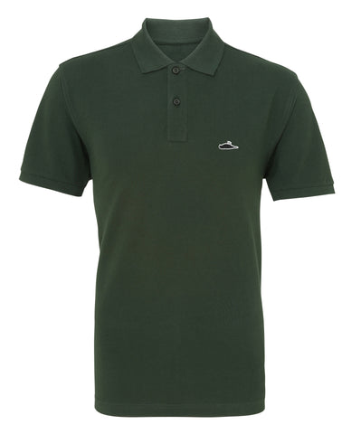 LTD Edition Solid Polo Shirt (Bottle Green)