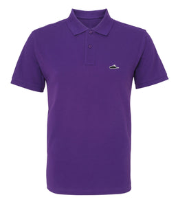 Atticus X Girls Behind The Rock Show LTD Edition Solid Polo Shirt (Purple)