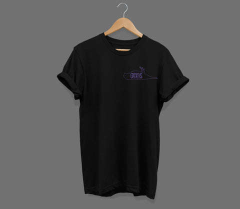 Atticus X Girls Behind The Rock Show 'Pocket Dead Bird' T Shirt (Black)