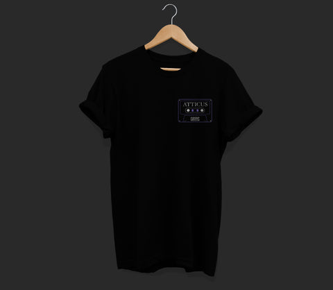 Atticus X Girls Behind The Rock Show 'Mix Tape' T Shirt (Black)